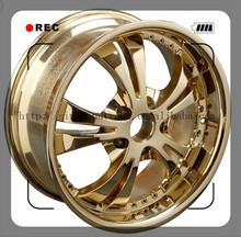 2015 hot model size 15-24inch golden replica wheels car rims wheels