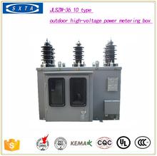 outdoor high-voltage power metering box merlin gerin