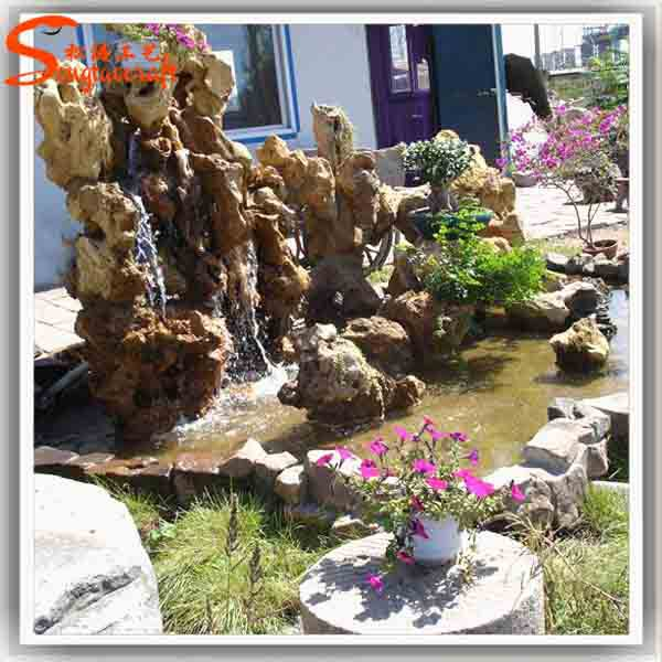 Design Waterfall Fountains Wholesale Rockery Small Water