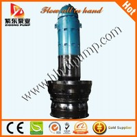 Propeller water pump for industry