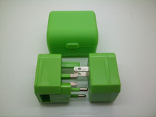 2014 best selling product in american for usb travel adapter promotion gifts