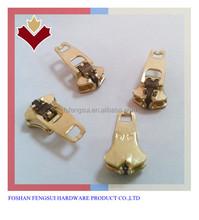 Semi-auto lock metal Zipper Puller and slider