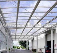 foshan tonon polycarbonate panel manufacturer solid pc sheet made in China (TN0657)