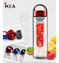 2013 new design BPA free 700-800ml/26oz TRITAN fruit infuser bottle