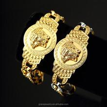 Authentic Hip Hop Medusa Jewelry Sets Of Mens Bracelet