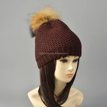 Ganchillo hecho punto animales / custom knit beanie barba sombrero / custom invierno beanie pompom