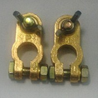 Gold Battery Terminal - Screw type