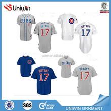 Chicago Cubs #17 kris BRYANT MLB baseball jersey