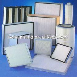 H13,H14 Mini Pleat HEPA Filter for laminar air flow hoods, laboratory