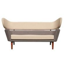 Finn Juhl réplica estofados baker sofá para sala de estar 2 lugares
