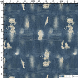 Denim design heat transfer printed paper for garment