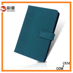 2015 book style Thin Stand PU Leather Smart Case Cover for ipad mini 4 leather case