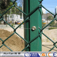 [Runtan]Anping Grade one Galvanized / PVC Coated Chain Link Fence / Chain Link Mesh