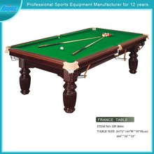 Model#HPB004international standard wooden snooker billiards