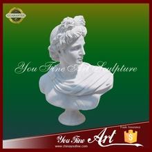 Famous figure bust sculpture for indoor decoration