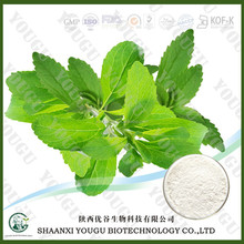 ISO certified botanical sugar extract manufacturer supply stevia pure via