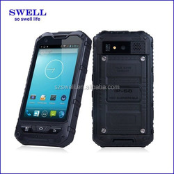 4.0 Inch NO.1SALE a8 IP67 Rugged Shockproof Smartphone IP67 level Waterproof GPS