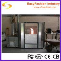Glass melting furnace smelting kiln oven furnace