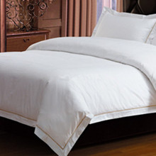 plain white 100% cotton bed sheet Luxury Hotel Bed Sheets wholesale duvet covers