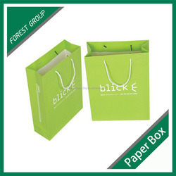 BROWN CRAFT PAPER SHOPPING BAGS