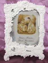 Europea ds-004p resina marco de fotos/artesanía del polyresin/hermosa pintura