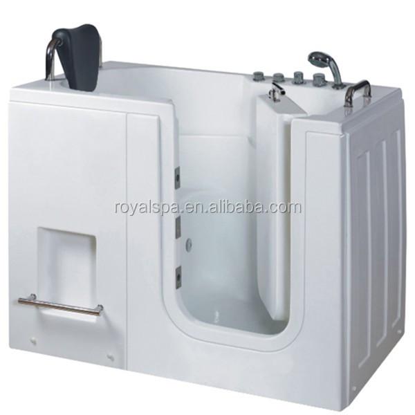 Rectangular Handicapped Walk In Bathtub For Elderly - Buy Elderly Walk ...