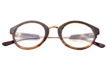 Classic Trendy Optical Glasses, Metal Temple Round Frame Reading Glasses