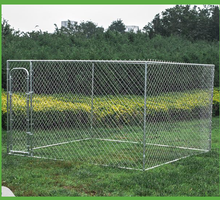 Large welded dog kennel/wire mesh animal cage