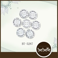 Plastic Alphabet Buttons Plastic
