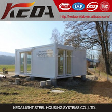 High quality 20ft Modular Houses Container Home Office for sale