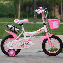 High order children bicycle,top selling kid bike bicycle,cute baby girl 4 wheel cycle approved CE