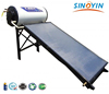 flat panel compact pressure solar hot water heater Integrated pressurized solar water heater