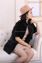 Real Mink Fur Coat / Mink Fur Jacket / Skins Fur For Women's Clothing