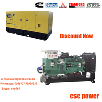 High quality! Global Warranty! china engine diesel genset 100kva