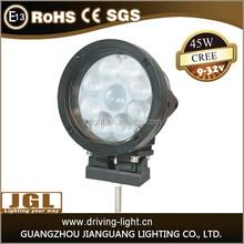 wholesale 45w led work light 12v 24v car led headlight waterproof cob work light made in China alibaba