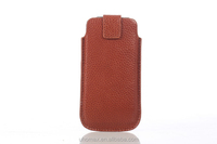 2015 Hot Seller Top Quality Sperior User Experience Smart Phone Case For Iphone 6s Genuine Leather Case