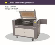 Reci/YongLi/SDA laser tube LC6090 CNC laser cutting machine