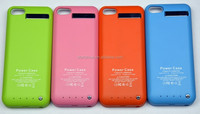 High capacity for iphone power case, power case iphone 5 external backup battery charger