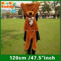 Niuniudaddy Semi-finished Plush bear 120cm plush toy skin