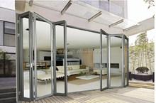 High Quality Folding Door /Double Glazing Aluminium Bifold Door