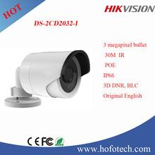 HIKVISION 3 MP ICR Network Bullet Camera, IP camera,cctv camera DS-2CD2032-I