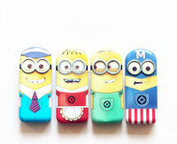 TF-W03150803033 2015 hot sell minion depicable me pencil case