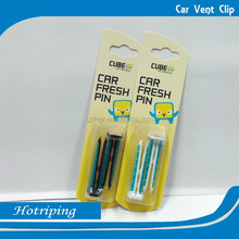 Customized logo design and favorable gel car incense clip(XM)