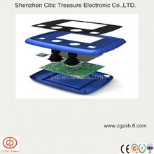 Graphic overlay pcb membrane keypad switch