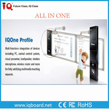 IQOne whiteboard projector multi-media pc all in one controller for interactive classroom