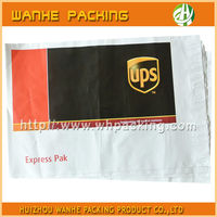 Self adhesive plastic courier bag shipping envelopes for clothing