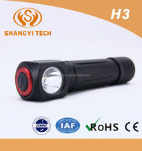 Mini head outdoor hunting led rechargeable camping torchlight