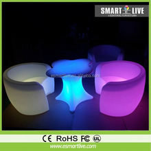 Led hotel chairs,living room furniture chairs,led bar sofa