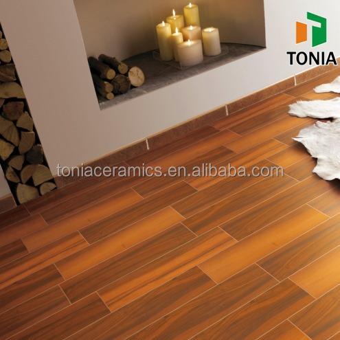 150x600 200x1000 Red Tan Wood Style Wood Look Ceramic Floor Tiles