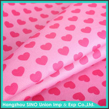 Wholesale direct from China 600D 100%polyester anti-UV oxford printed fabric